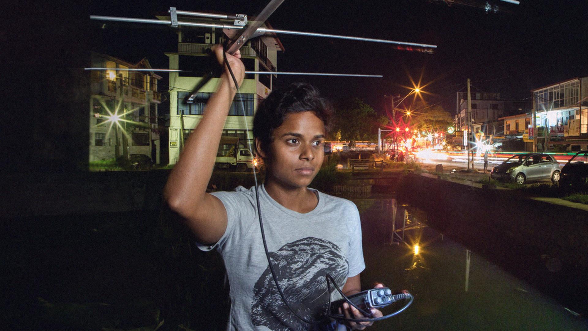 Anya Ratnayaka Saving the **urban fishing cat**